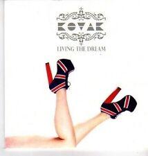 (DA441) Kovak, Living The Dream - DJ CD