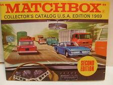 MATCHBOX LESNEY COLLECTOR'S CATALOGUE CATALOG 1969 USA SECOND EDITION