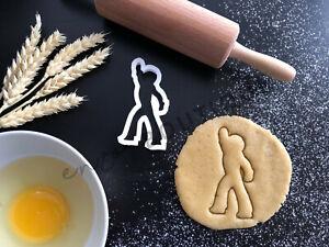 Disco Dancer Cookie Cutter 02 | Fondant Cake Decorating | UK Seller