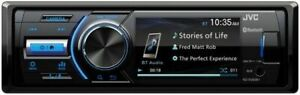 JVC KD-X560BT Single DIN In-Dash Marine Boat Bluetooth Media Receiver