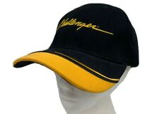 Challenger Yellow Embroidered Black Baseball Hat Cap Adjustable Adult Strapback