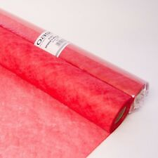 Oasis® Spider's Web Fabric Wrap Red 60cm (23 inch) Wide on a 25m (27yd) Roll