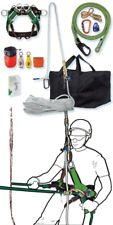 Tree Climbing Rope Kit,Basic Rope Kit for Climber,Saddle,150' Rope,Flipline