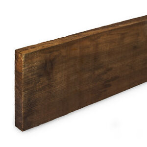 Wooden Gravel Boards 150X22mm (6x1 inch) Treated Timber 0.9m to 4.8m Lengths