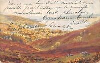 BR94403 the lowlands garelochhead  painting postcard scotland