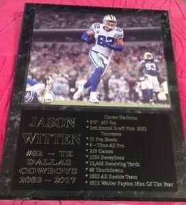 Jason Witten - Dallas Cowboys statistics plaque - New Lower Pricing!!