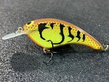 John Hott Lures - Petite Petee - Custom Balsa Crankbait - Spring Craw Color
