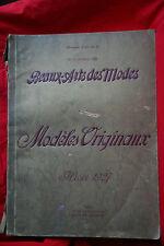RARE Catalogue Hiver 1927 de l'atelier Bachwitz - Beaux-Arts des Modes