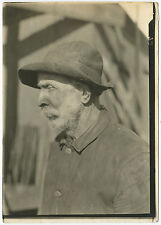 Lewis HINE: Old-time Coal Miner, Pennsylvania, 1909 / VINTAGE / SIGNED! / LH091