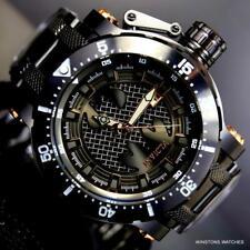 Invicta DC Comics Batman Coalition Forces Black Steel 52mm Automatic Watch New