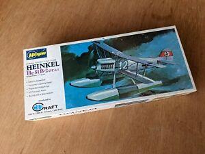 Heinkel 51B-2 floatplane 1/72 Minicraft