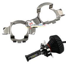 H7 LED Headlight Bulbs Adapters Holders Retainers Mercedes C E ML CLK GLA GL GLS