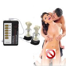 Female Electric Shock Therapy -Masturbation-Nipple-Vibrator-Breas-Enlarger Toys