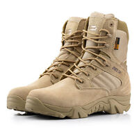 Desert Combat Military Tactical Ankle Boots Cordura Army Hiking Shoes DELTA 511