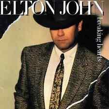 ELTON JOHN -  Breaking Hearts (LP) (VG+/EX)