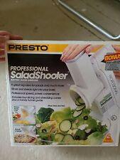 Vintage Presto Professional Salad Shooter Electric Nib 02970