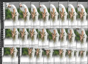 (24) 2021 UD Artifacts Maverick McNealy RC Rookie Card Investor LOT All xxx/999