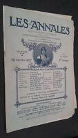 Revista Dibujada Las Anales 23 Junio 1907 N º 1252 Politica Y Literaria