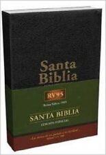 SANTA BIBLIA RVR95 CON HIMNARIO EDICION ESPECIAL. PIEL NEGRO