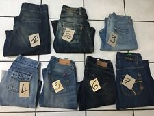 JEANS FEMME TAILLE US 28 FR 38 C.COTONNIERS RWD ONLY PETITES BOMBES ETC
