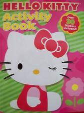 HELLO KITTY ACTIVITY BOOK + OVER 30 STICKERS INCLUDED (NEW)