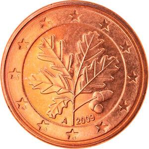 [#818942] République fédérale allemande, 5 Euro Cent, 2009, Berlin, FDC, Copper