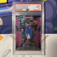 2019-20 Panini Prizm Draft Picks ZION WILLIAMSON Rookie Pink Pulsar RC PSA 9