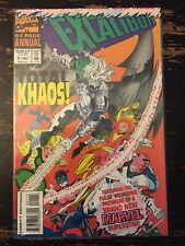 Excalibur Annual #1 Factory Sealed W/Trading Card (Marvel) Free Combine Shipping