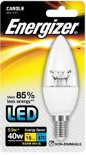 Energizer LED Non-Dimmable Candle Bulb 5.9W (40W) SES E14 - Warm White