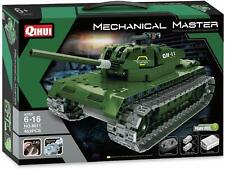 Mechanical Masters Build Your Own 2.4G RC Radio Control Model Battle Tank Kit