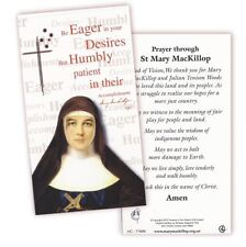 ST Saint Mary MacKillop prayer card - australian Catholic