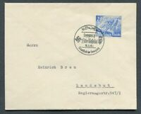 German Reich WW II : Better cover from 1940 - Fancy cancel - sent !!!