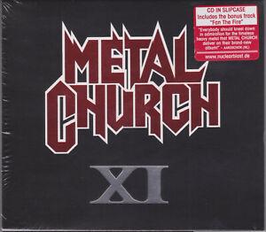 Metal Church 2016 CD - XI +1 - Metallica/Agent Steel/Jag Panzer/Helstar - Sealed