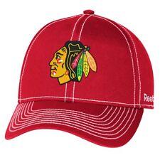 "Chicago Blackhawks Reebok NHL ""High Stick"" Slouch Adjustable Hat"