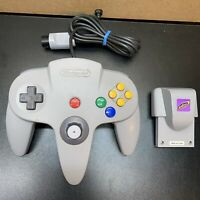 N64 Controller Official OEM Nintendo 64 Authentic NUS-005+Intec Hyper Pak