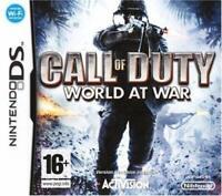 Call of duty world of war console Nintendo DS, DSi, DS lite, jeu vendu en loose