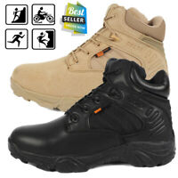 Tactical Desert Boots Men Combat Hiking Army Military Patrol Duty Work Shoes HOT