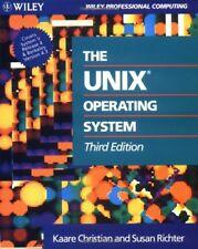 Unix 3e P (Wiley Professional Computing)-Kaare Christian