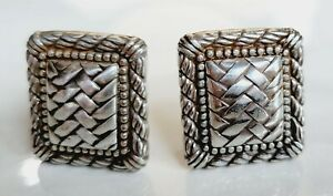 Brighton Weave Clip Earrings #14