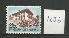 South West Africa 2 1/2 C with seaming LMH SACC 203b (size III) SWA South West Africa