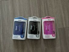 Three New iWorld Cassettes Adapters ipod iphone Mp3 Compatible Plug And Play