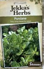 2500 graines-Paquet économique Salade-Purslane-Vert