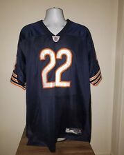 NFL Chicago Bears Matt Forte #22 Large Jersey Reebok Authentic Size 54 Blue
