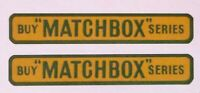 Matchbox Lesney Stickers 'Buy MATCHBOX Series' for 5b London Bus-(57mm 1957)