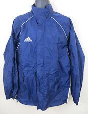 Adidas Coat Training Windbreaker Top Lightweight Blue Jacket Mens 38/40 L Large