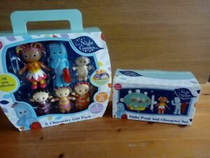 In The Night Garden Toy/ Figure set Bundle new in boxes and packets