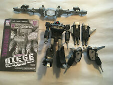 Transformers War For Cybertron Siege GALACTIC MAN SHOCKWAVE LOOSE COMPLETE