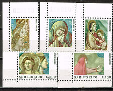 San Marino Arts Giotto Famous Paintings in Padua set 1968 MNH
