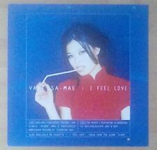 """VANESSA MAE -Promotional 12"""" x 12"""" Card (Flat) I FEEL LOVE (ideal for framing)"""