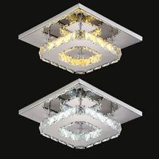 LED Crystal Ceiling Light Modern Minimalist Kitchen Living Room Entrance Lamp